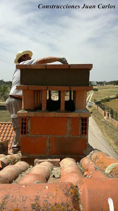 Construcci N De Chimenea Construcciones Juan Carlos